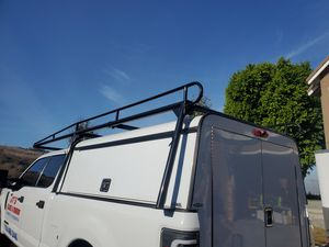 Rack and comercial camper shell for Sale in Anaheim, CA