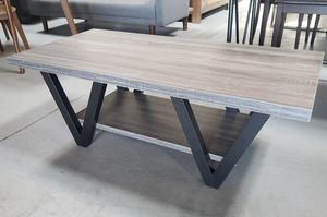 Weathered grey coffee table for Sale in San Leandro, CA