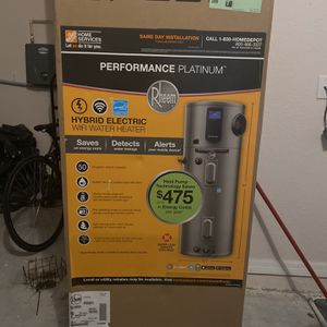 RHEEM PERORMANCE PLATINUM Brand New Electric water heater and for Sale in Poinciana, FL