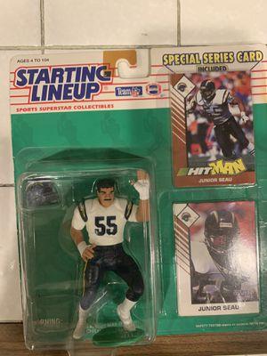 1993 junior seau action figure for Sale in Ontario, CA