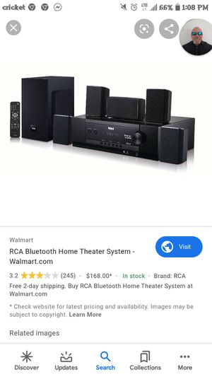 Rca surrounded sound with subwoofer for Sale in Spokane, WA