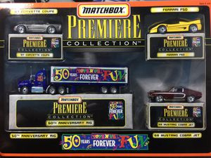 Match Box Premiere Collection. 50 years Anniversary. Toys R Us for Sale in Temple City, CA