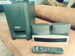 Bose home theater system 3.2.1cd dvd player for Sale in Marina del Rey, CA