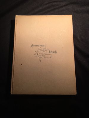 Jerome Bosch by F. M. Godfrey Hard Back Book no dust jacket GREAT CONDITION - See pictures Buy AS IS for Sale in La Habra Heights, CA