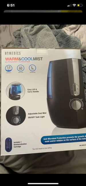 Brand new warm and cool ultrasonic humidifier for Sale in Bell, CA
