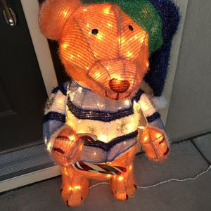 Home Accents Lighted Teddy Bear for Sale in Parker, CO