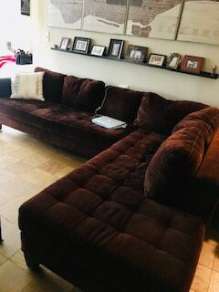 Macy's Large L Shaped Sectional couch for Sale in New York, NY