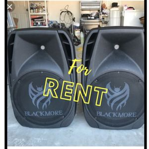 "15"" POWERFUL 3000WATTS RECHARGEABLE SPEAKER WITH MICROPHONE for Sale in City of Industry, CA"