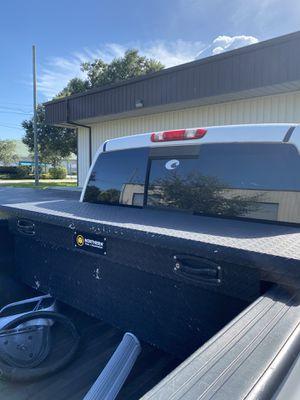 Black Low Pro Tool Box for Sale in Vero Beach, FL