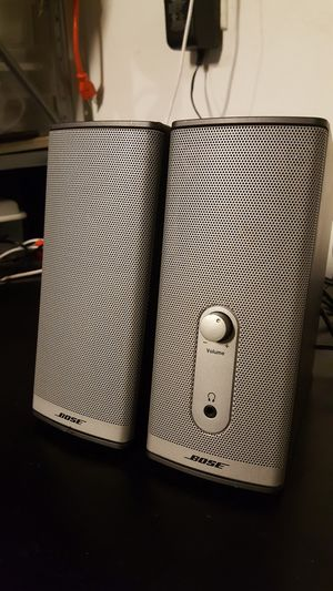 Bose Speakers with Bluetooth adapter for Sale in Aurora, IL