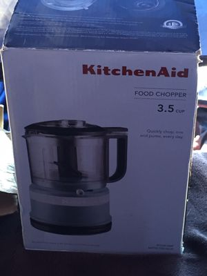 Kitchen aid 3.5 cup food chopper new for Sale in Millbrae, CA