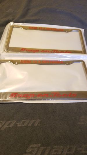Snap On Tools license plates NEW for Sale in Los Angeles, CA