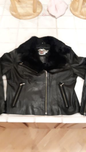 Womens Leather Harley Davidson Jacket for Sale in Auburn, WA