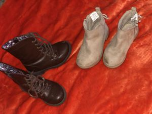 Size 7 toddler girl boots! for Sale in Nampa, ID