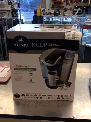 KEURIG K CUP K75 PLATINUM for Sale in Arlington Heights, IL