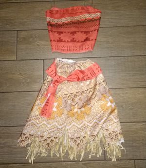 Disney Moana Costume size 6 for Sale in Gulfport, FL