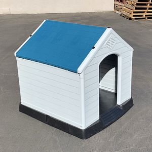 """$110 (brand new) large size plastic dog house 36""""x34""""x38"""" for Sale in Whittier, CA"""