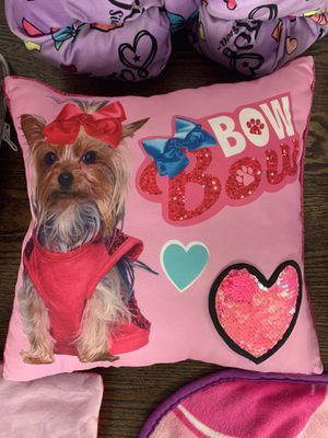 JoJo Siwa Bow Bow Pillow for Sale in Riverwoods, IL