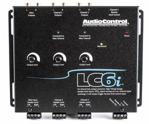 AUDIOCONTROL LC6I 6CH CAR AUDIO STEREO LINE OUT CONVERTER NEW for Sale in San Diego, CA