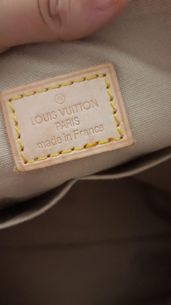 LOUIS VUITTON totally pm azur tote bag