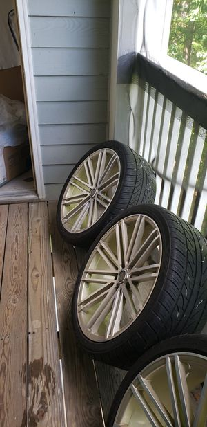 RIMS AND TIRES for Sale in MD CITY, MD