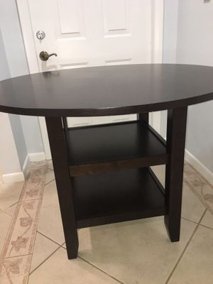 """Solid wood 42"""" table real wood!!!! for Sale in Lauderhill, FL"""