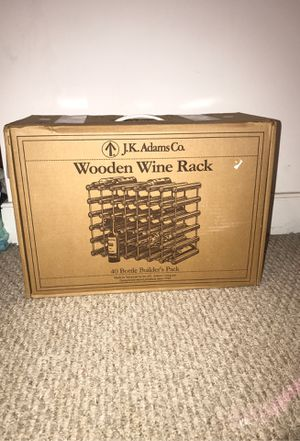 Wooden wine rack for Sale in Jetersville, VA