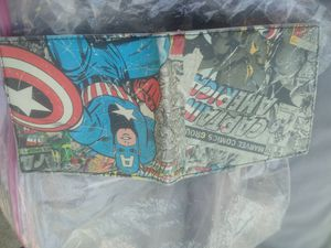 Marvel Captain America Wallet for Sale in Los Angeles, CA