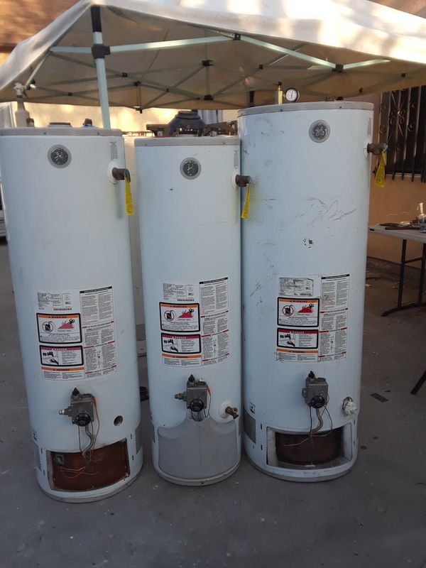 Used water heaters