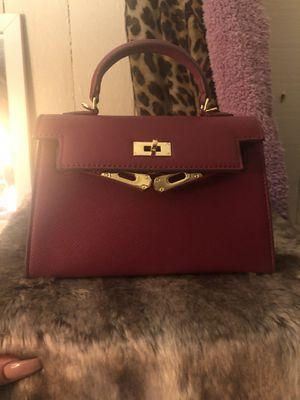 Burgundy kelly bag for Sale in Azusa, CA