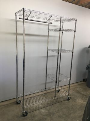 Silver Mud Room Rack for Sale in Iowa City, IA