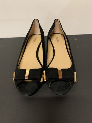 Michael Kors women's suede black shoes , size 10 for Sale in San Diego, CA
