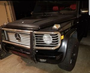 Mercedes G500 G550 OEM Bumper Brush Guard Grille Bezel Mirrors for Sale in San Diego, CA