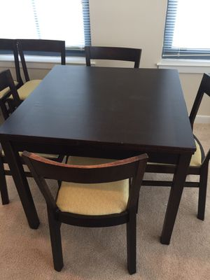 Expandable dining table, coffee table with storage and matching end table for Sale in Arlington, VA