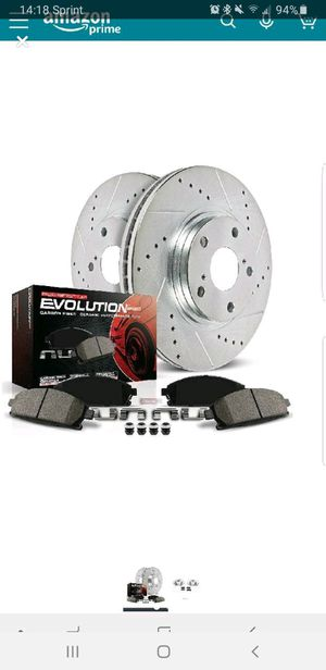 Powerstop crossdrilled slotted rear brake kit G35 2007-13 for Sale in Temple City, CA