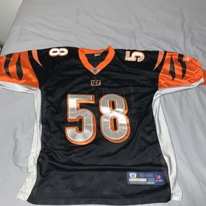 Rey Maualuga Bengals jersey XL for Sale in Monroe, WA