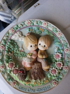 """Precious Moments """"Love One Another"""" Plate for Sale in Valrico, FL"""