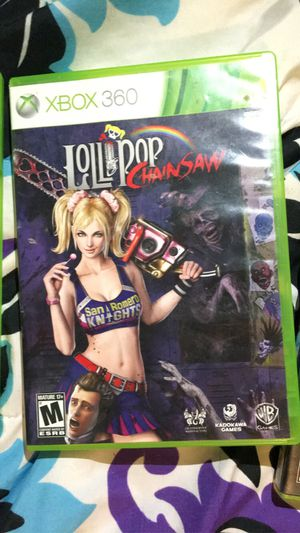 LoliPop Chainsaw XBOX 360 for Sale in Piney River, VA