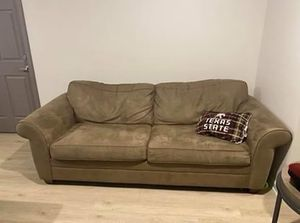 Micro suede couch for Sale in Kyle, TX