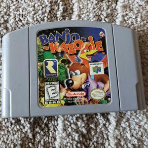 Banjo Kazooie Nintendo 64 for Sale in Downey, CA