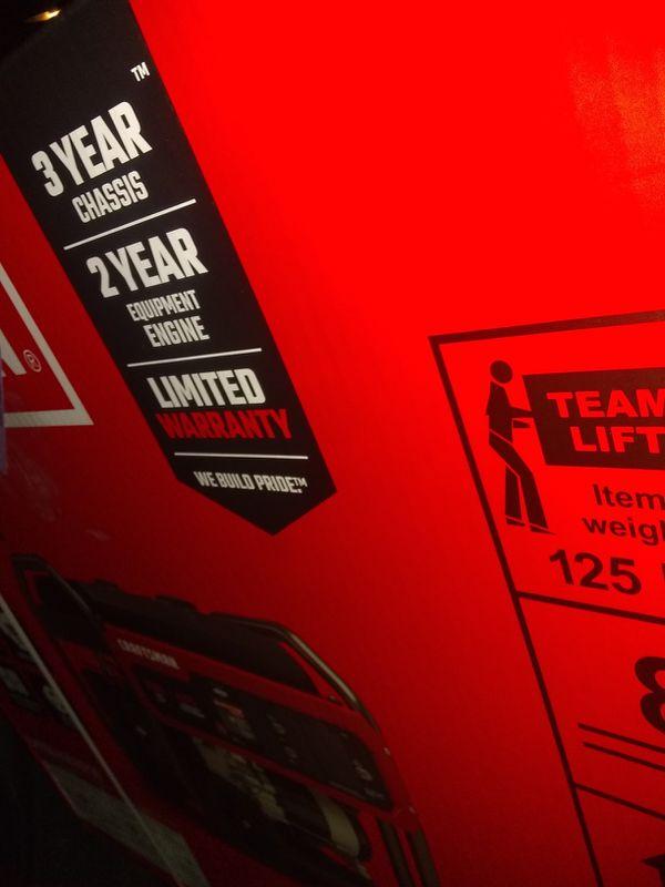 Sears Craftsman inverter generator