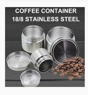 New in box CoaGu 24oz Airtight Coffee Container 18/8 Stainless Steel Lunch Containers BPA Free Dishwasher Safe for Sale in Las Vegas, NV
