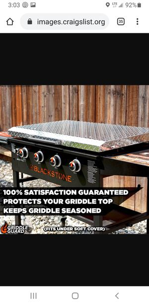 Blackstone griddle cover for Sale in Long Beach, CA