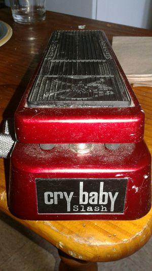 Slash signature wah wah pedal for Sale, used for sale  Jersey City, NJ