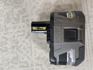 Ryobi 18V 9Ah Battery for Sale in Greenville, SC