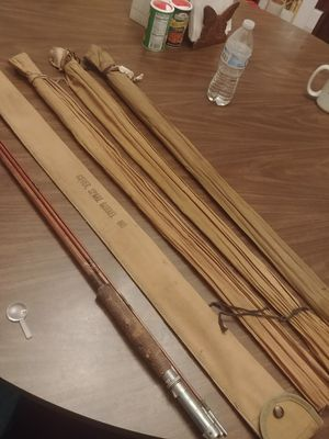 Bamboo fly fishing rod LOT sale for Sale in Gibsonia, PA