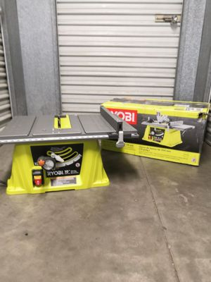 RYOBI 15 Amp 10 in. Table Saw for Sale in San Diego, CA