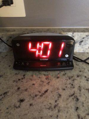 Sharp alarm clock with night light for Sale in Philadelphia, PA