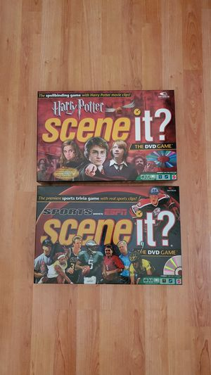 Scene it? Harry Potter and Sports ESPN DVD Broad Games Complete! for Sale in Weston, FL