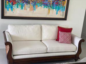 Beautiful Set of White Sofas - 2 for Sale in Tamarac, FL